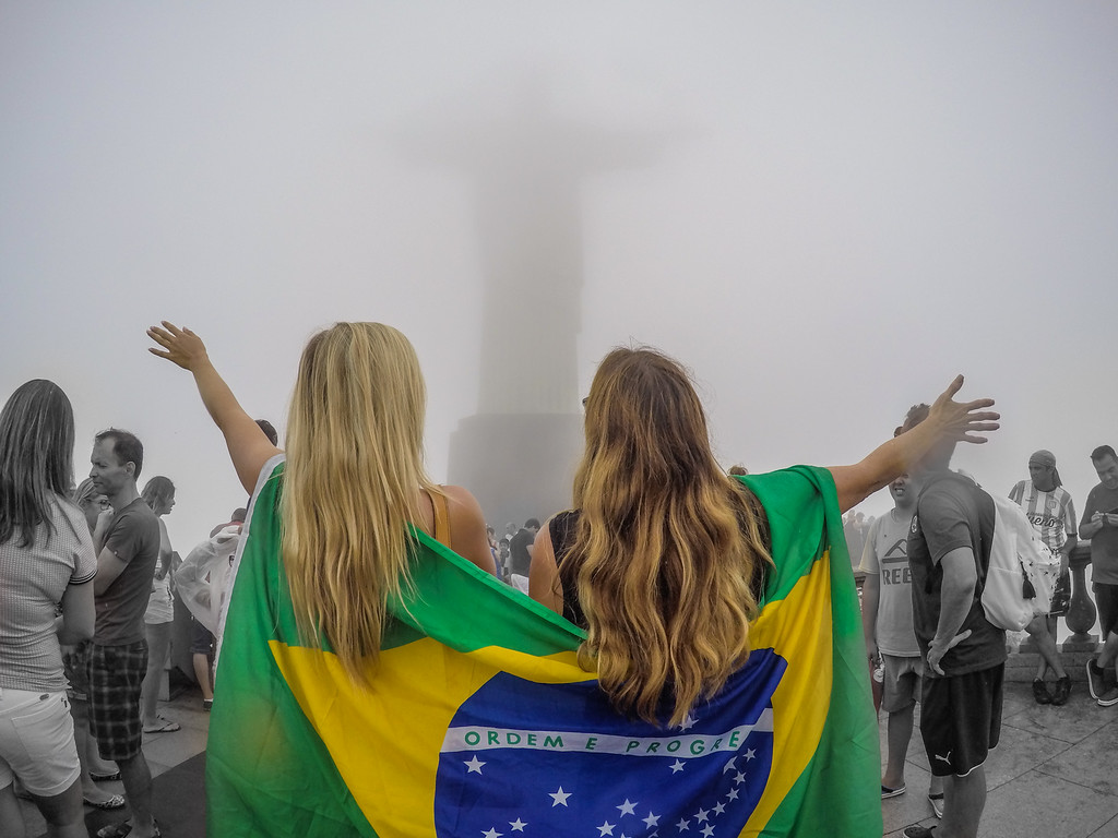 Mom and Daughter in Rio