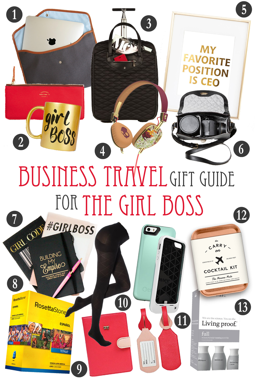 Business Traveler Gift Guide for The Girl Boss