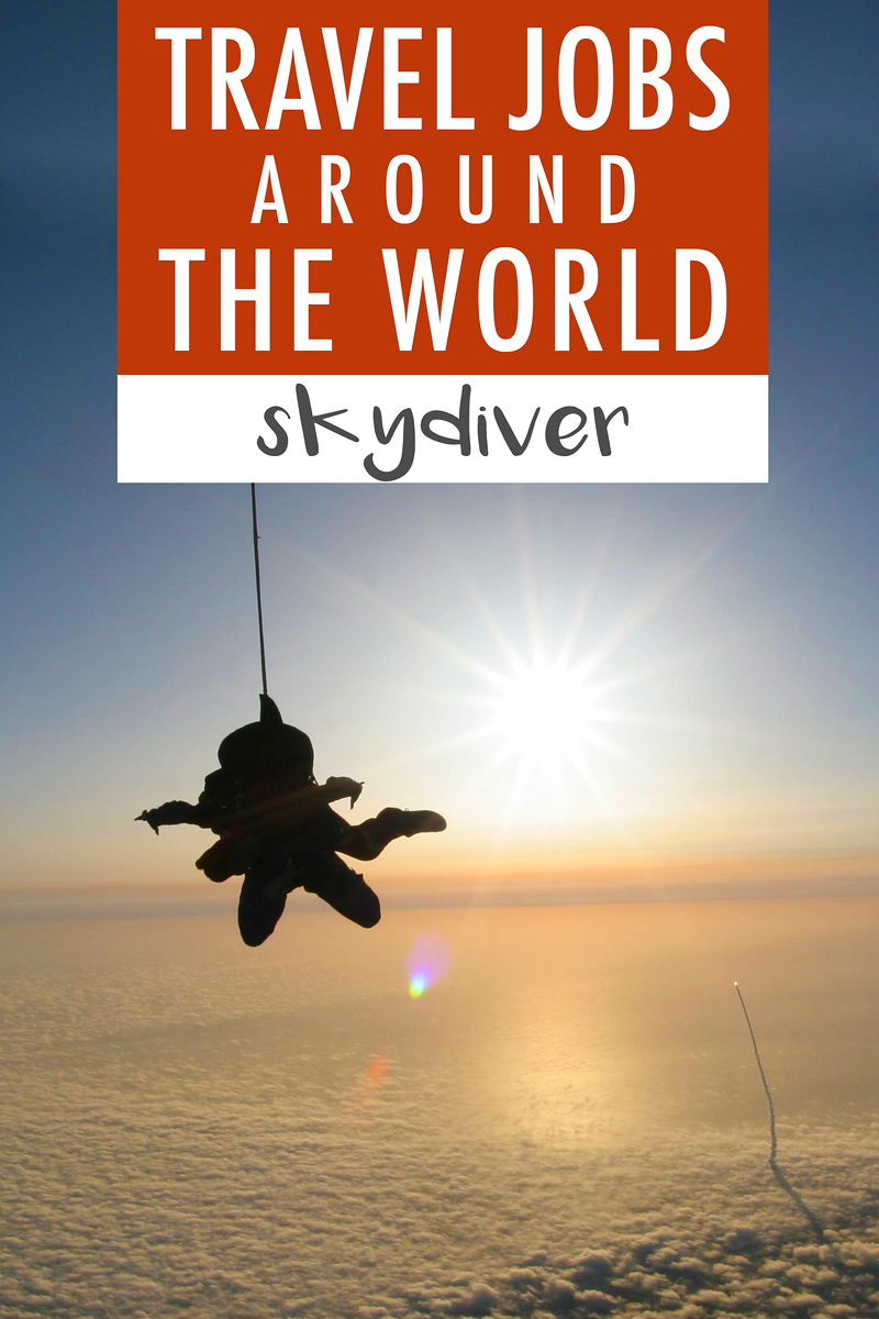 Travel Job Skydiver