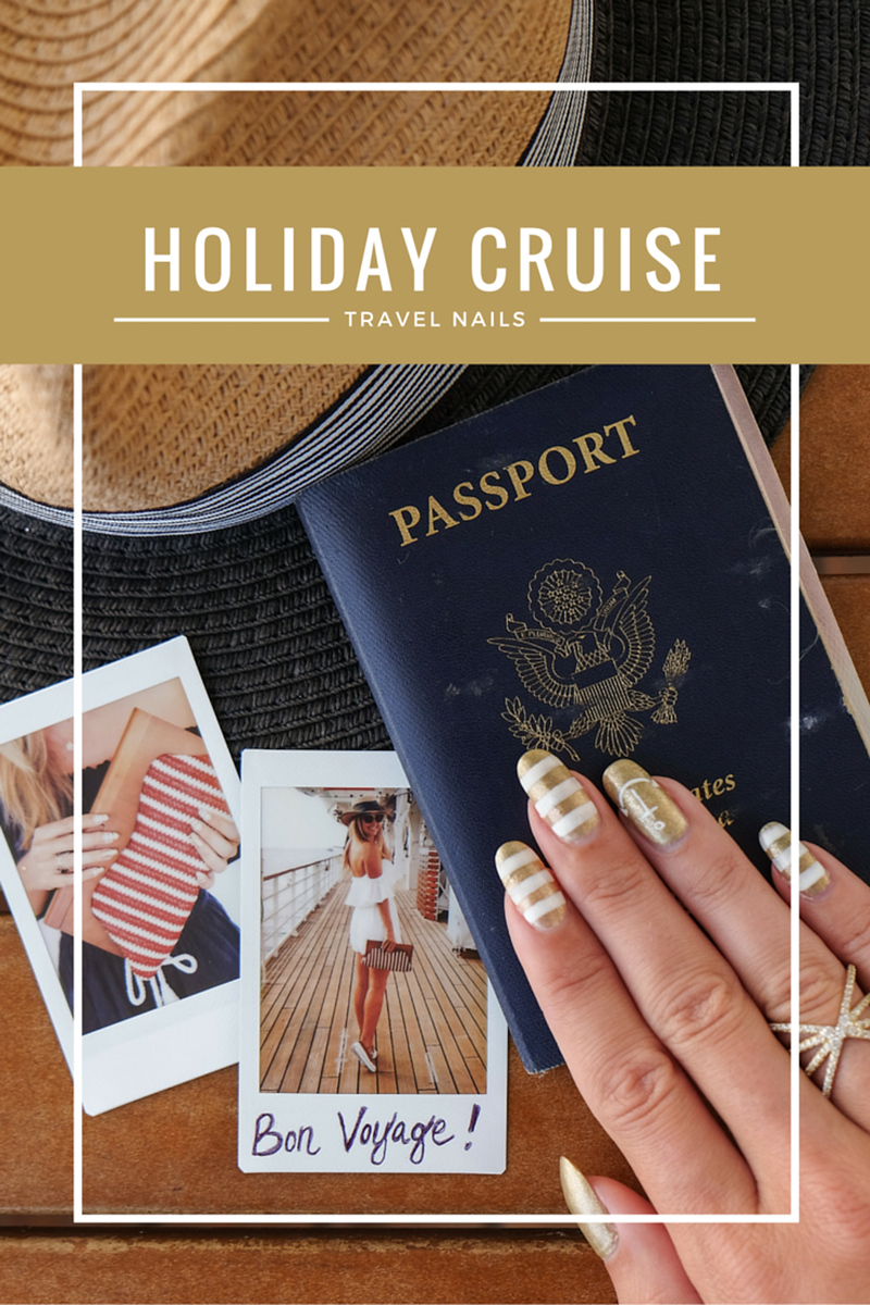 Cruise Inspired Travel Nails