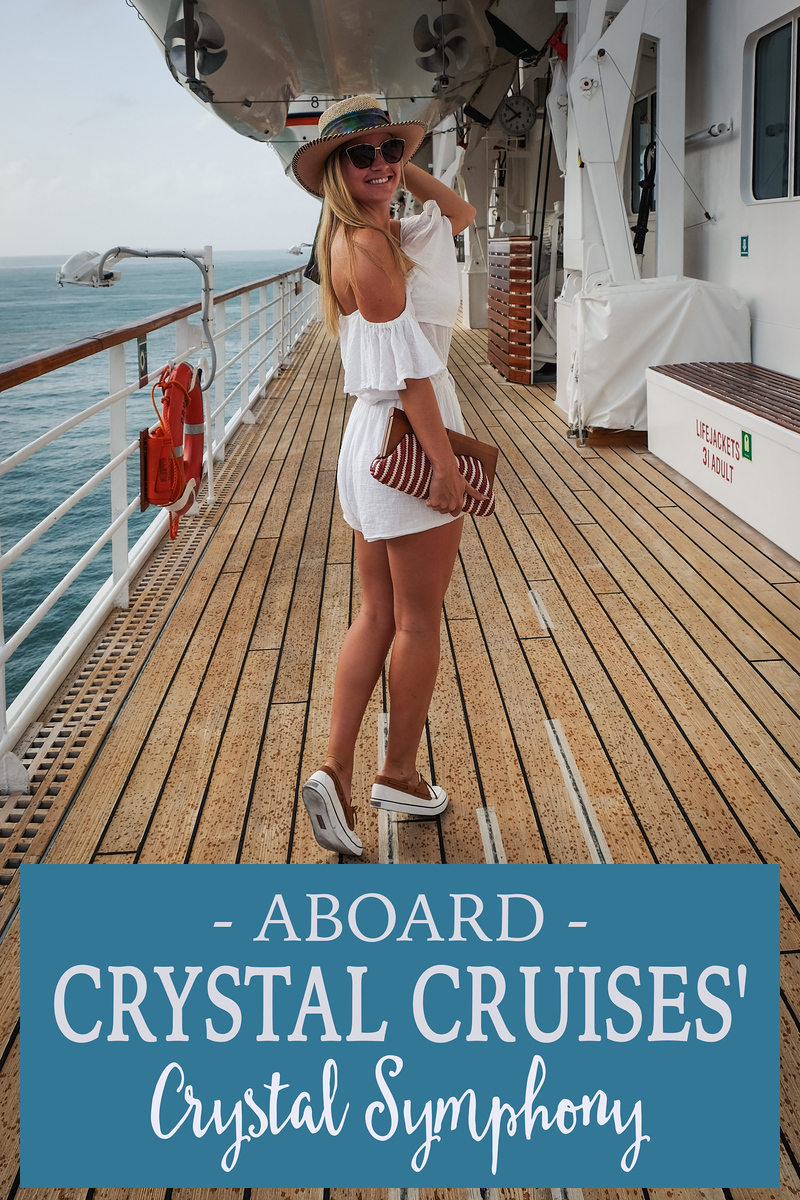 Onboard Crystal Cruises